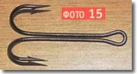 крючки рыболовные,двойник