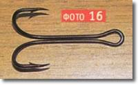 крючки рыболовные,двойники