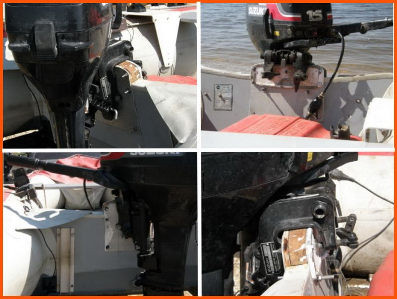 монтаж мотора на лодку пвх